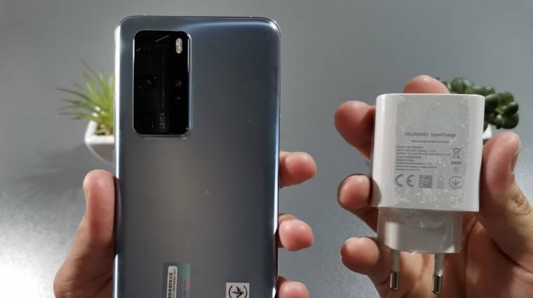 135 wattos töltőt kaphat a Huawei P50 Pro kép