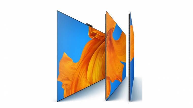 Megérkezett a Huawei első OLED-tévéje kép