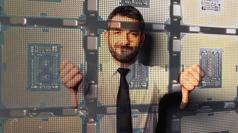 Nagy baj van, nem megy az Intelnek a 7 nanométer kép