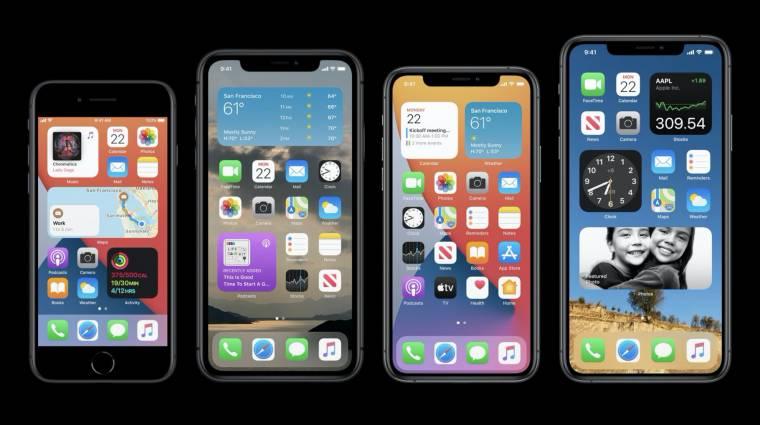 iOS 14: átdolgozott főképernyő, gyorsabb appelérés, PiP videó és sok minden más kép