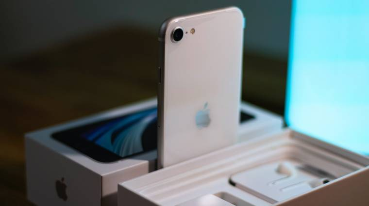 Újabb jel utalna az iPhone SE frissítésére? kép