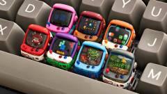 Olyan gyönyörűek ezek az árkád játékgép kinézetű gombok, hogy nem is nyomkodnánk őket kép