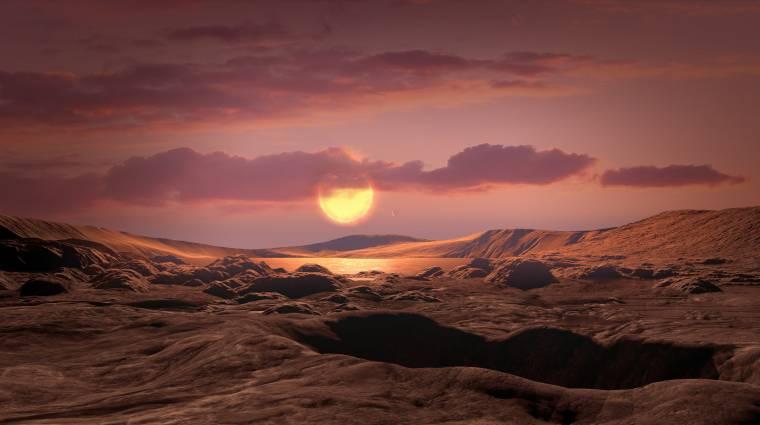 Az életre is alkalmas lehet a Föld ikertestvérének tekinthető, most felfedezett exobolygó kép
