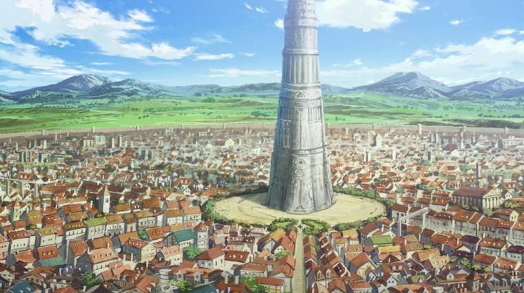 Most egy anime óriási városát alkották újra a Minecraftban bevezetőkép
