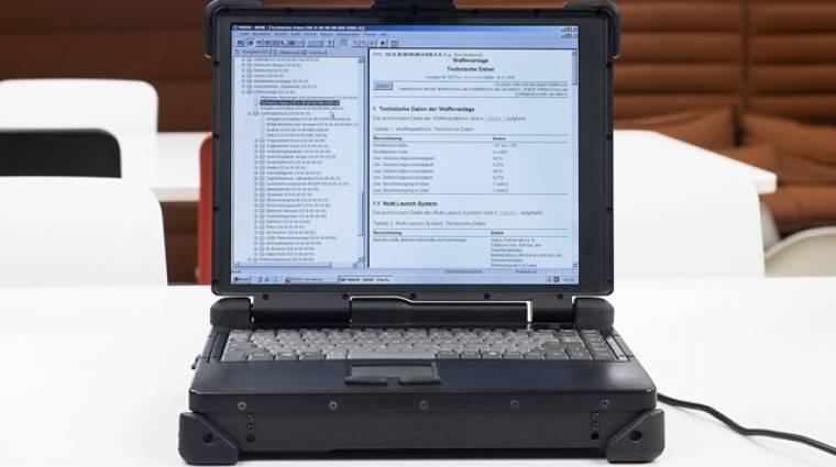 A német hadsereg egyik laptopja az eBay-en talált gazdára, rajta bizalmas adatokkal kép