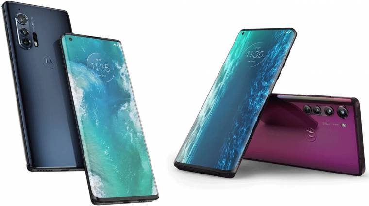 Megérkeztek a prémium kategóriás Motorola Edge mobilok kép