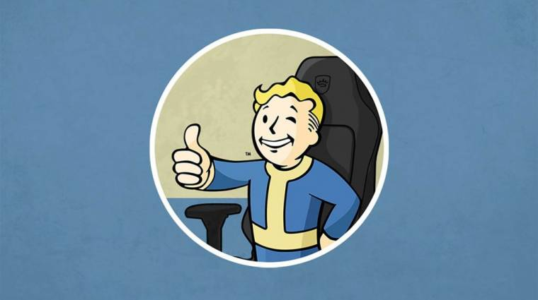 Jönnek a Bethesda-témájú gamer székek bevezetőkép