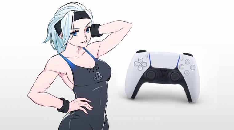 Ilyen lenne a PlayStation 5 kontrollere, ha animés lány volna bevezetőkép