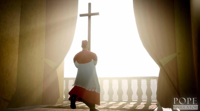 Jön a Pope Simulator, amiben katolikus egyházfőként küzdhetünk a világbékéért bevezetőkép