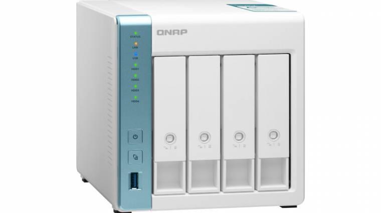 Az otthonokba szánja új hálózati tárolóit a QNAP kép