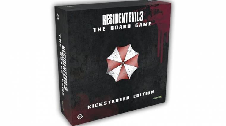Jön a Resident Evil 3 társasjáték, ha mi is úgy akarjuk bevezetőkép