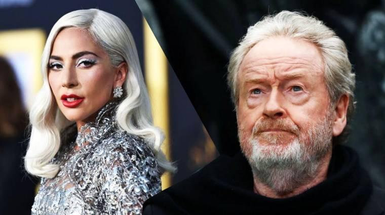 Ridley Scott Lady Gagával készít filmet Gucciról kép