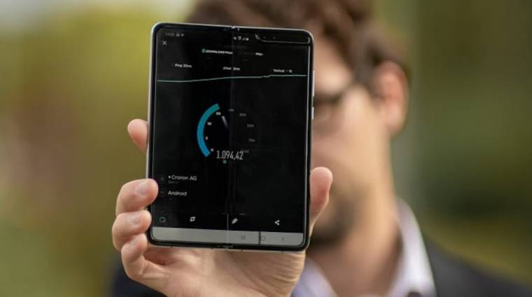 Új 5G-s sebességrekordot állított fel a Samsung kép