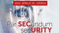 SecWorld 2020 - Pár secundum security kép