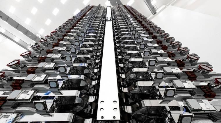 Úgy tűnik, még csak meg sem közelítik a gigabites teljesítményt a SpaceX műholdjai kép