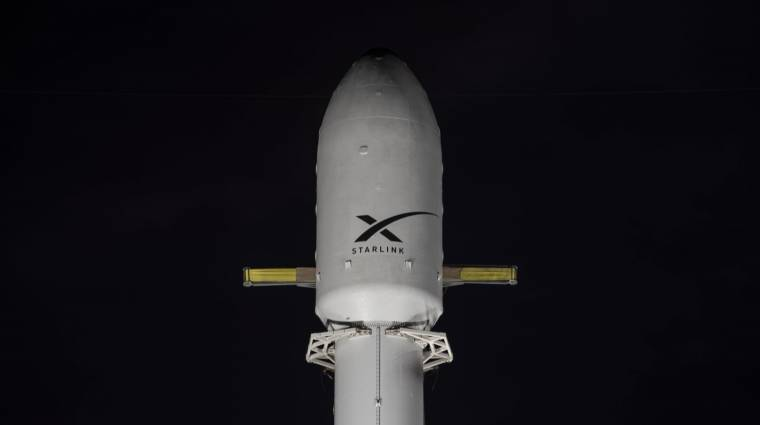 Újabb adag Starlink műholdat lőtt fel a SpaceX kép