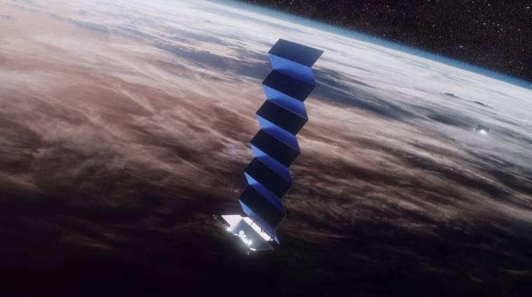 Havi 99 dollárért lehet tesztelni a SpaceX műholdas internetét kép
