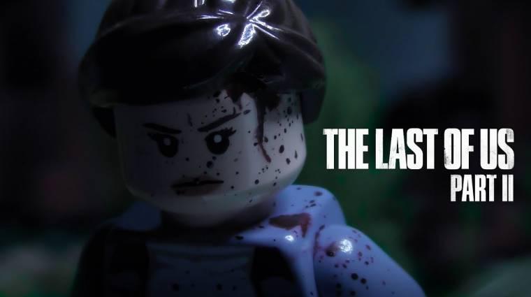 LEGO verzióban is imádjuk a The Last of Us Part II előzetesét bevezetőkép