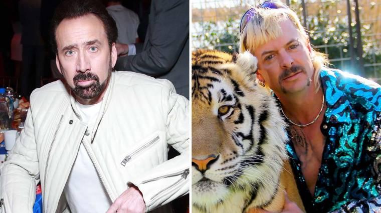 Nicolas Cage a Tigriskirály bőrébe bújik karrierje első sorozatában kép