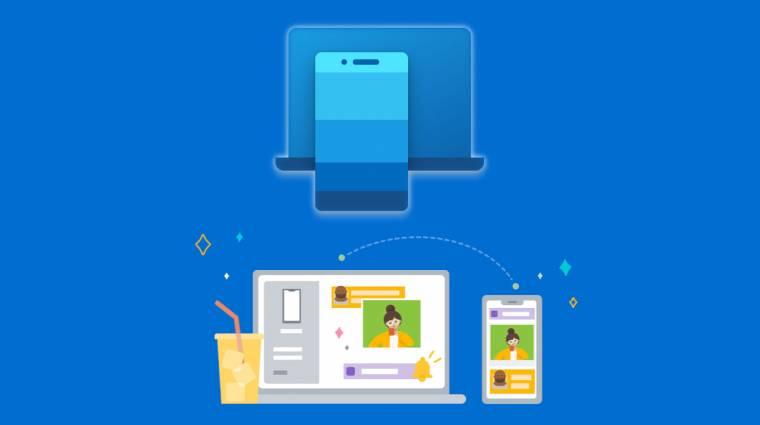 Multimédiás vezérelésre is jó lesz a Windows 10 Csatolt telefonja kép
