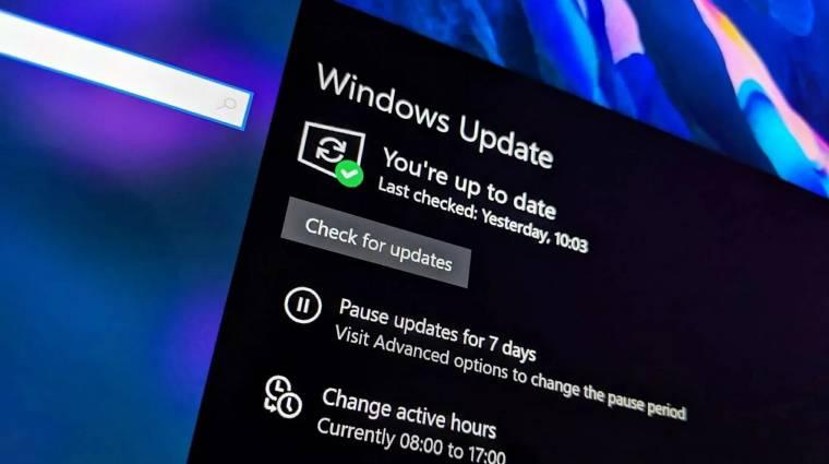 Sok kicsi frissítést kap innentől kezdve a Windows 10 kép