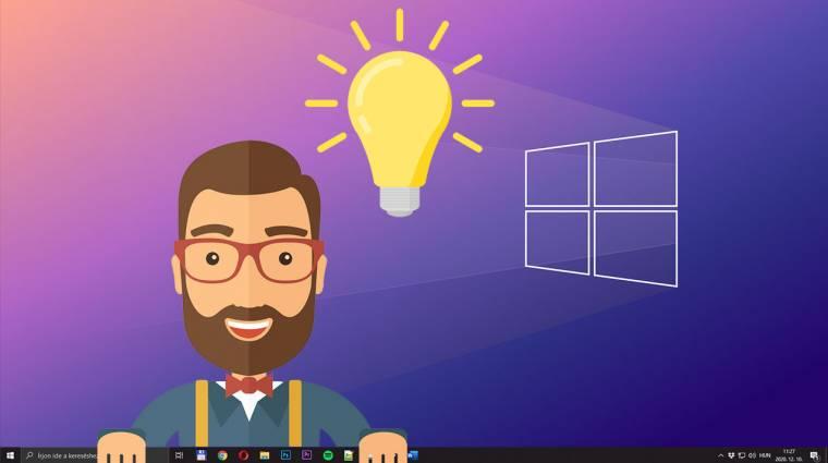 5 rejtett gomb és beállítás a Windows 10-ben, amiről még talán nem is hallottál kép