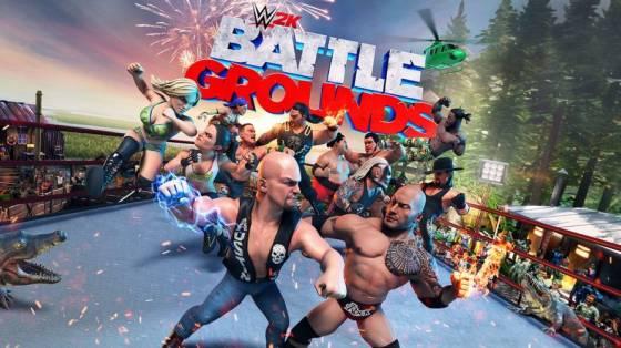 WWE 2K Battlegrounds infódoboz