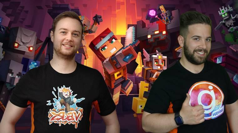 Pont a Minecraft Dungeons maradna ki a Game Pass Fesztiválból? bevezetőkép