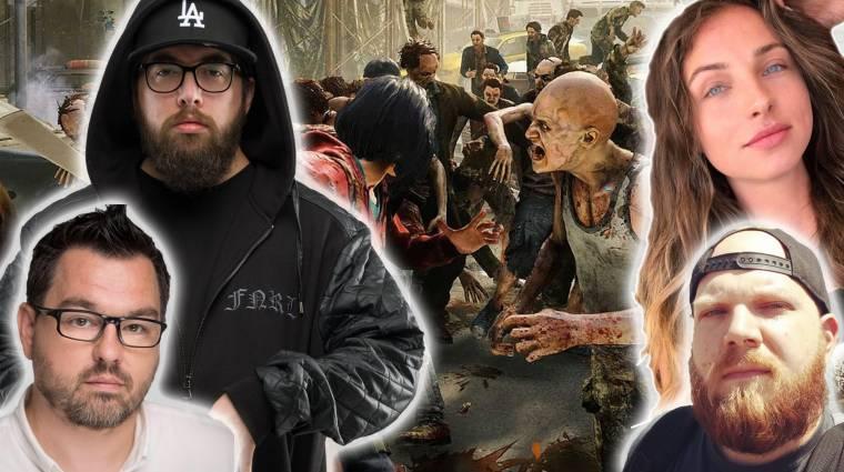 Aza, mazur, Kaci és Dobos Evelin a zombik ellen - Game Pass Fesztivál 7. nap bevezetőkép