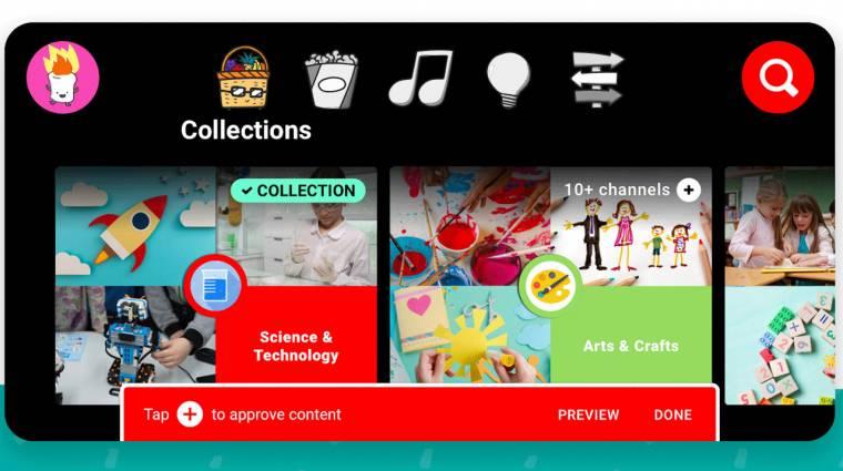 Már itthon is elérhető a gyerekbarát YouTube Kids kép