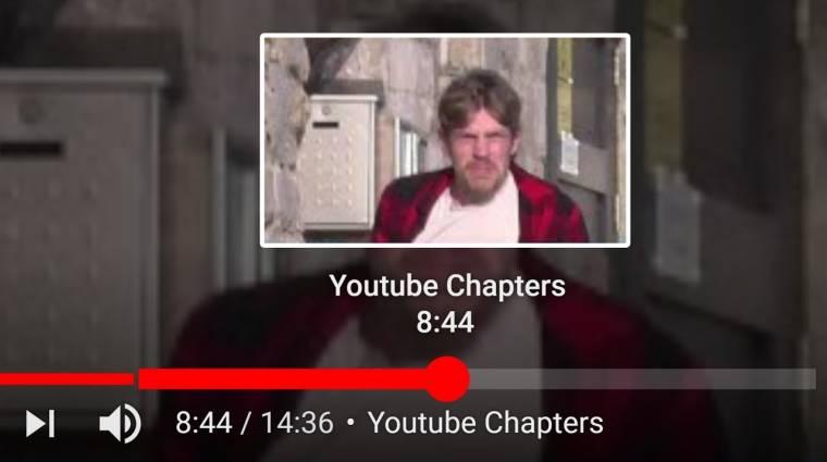 A YouTube mesterséges intelligenciával bontaná fejezetekre a videókat kép