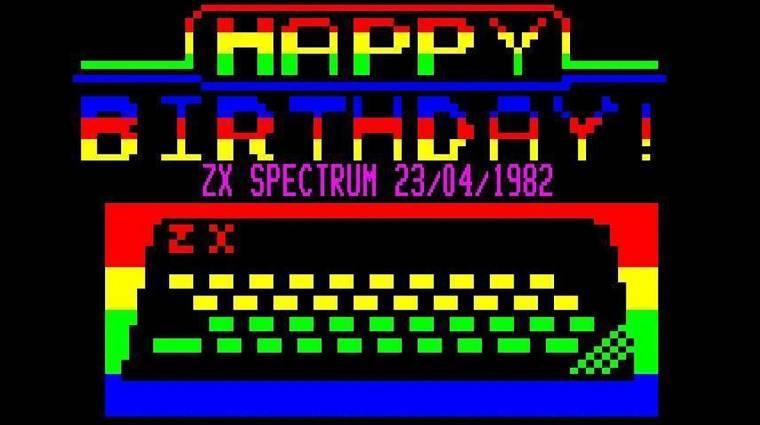 ZX Spectrum születésnap: ma 38 éves a Gumibillentyűs Csoda kép
