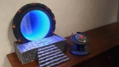 Itt egy csillagkapu, amit egy Raspberry Pi hajt kép