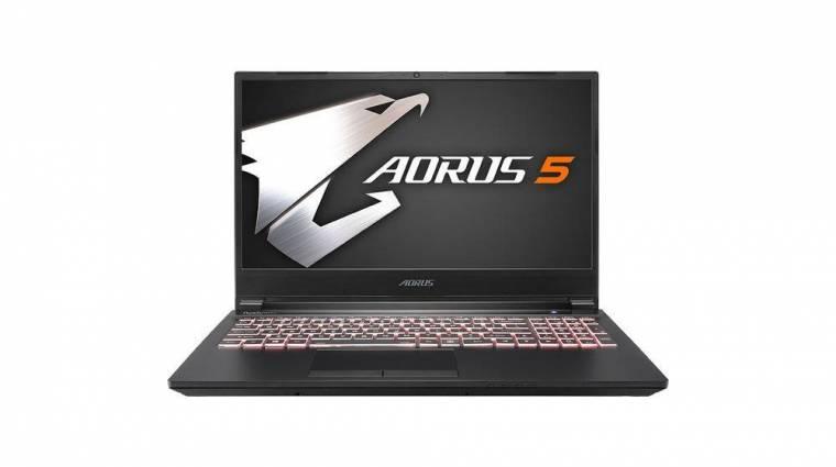 Középkategóriás Aorus laptopokat hozott a gamereknek a Gigabyte kép