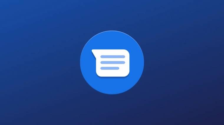 Az iMessage-ből ismerős funkciókat tesztel a Google kép
