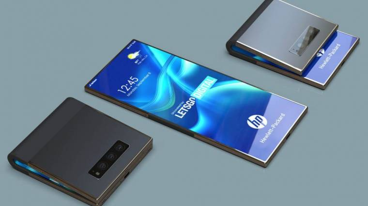 Már a HP is összehajtható mobilt akar kép
