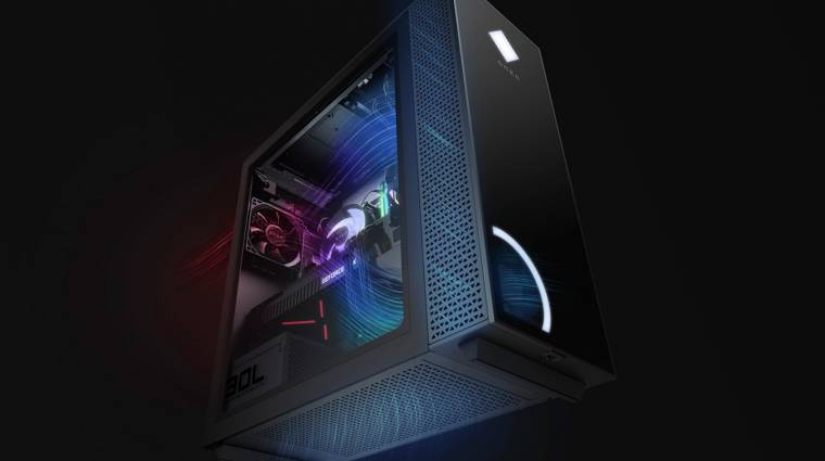 A HP új Omen gamergépei menő gépházat kaptak kép