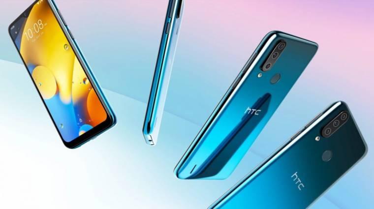 Napokon belül debütál az HTC Desire 20 Pro kép