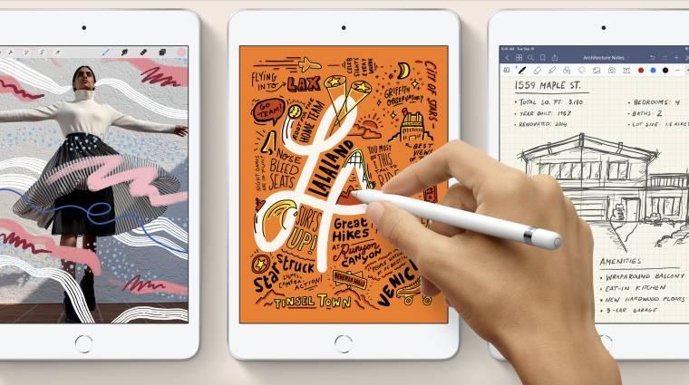 Nagyobb kijelzővel jön a következő iPad mini? kép