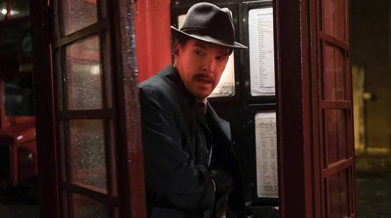 Benedict Cumberbatch következő filmjében egy bajszos kémet alakít kép