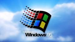 25 éves a Windows 95! kép