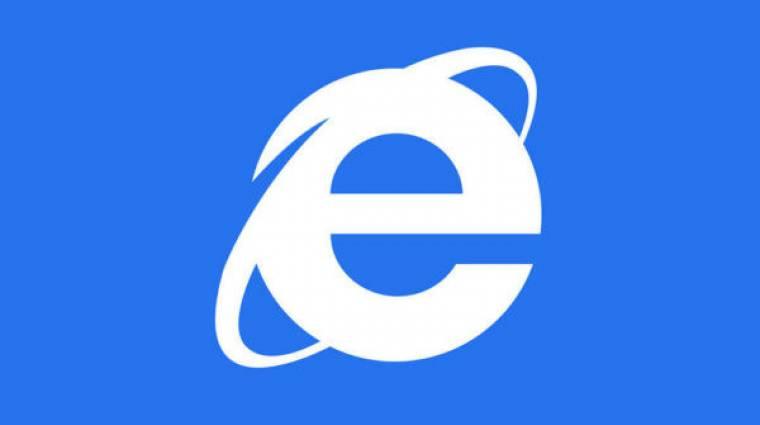 Döbbenet: egyre népszerűbb az Internet Explorer böngésző kép