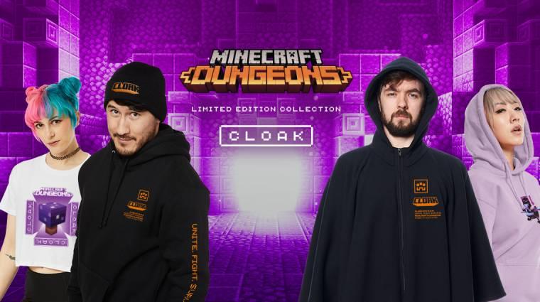 Jönnek a Minecraft Dungeons ruhakollekciók bevezetőkép