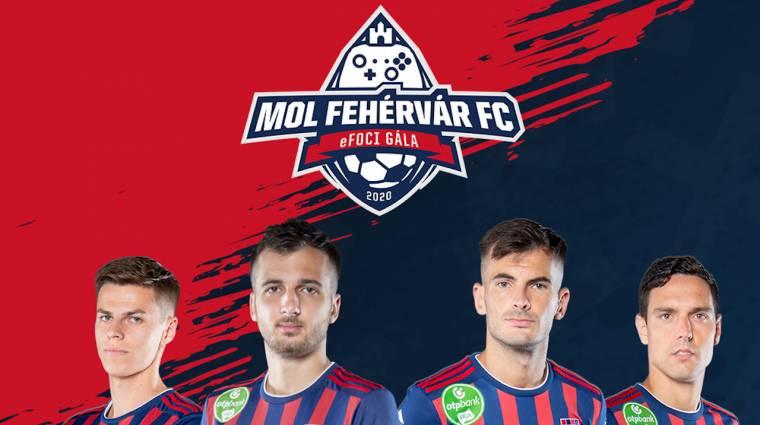 Jótékonysági virtuális focigálát szervez a MOL Fehérvár FC bevezetőkép