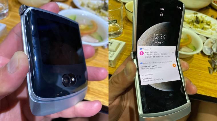 Itt van minden, amit tudni akartál az összehajtható Motorola Razr 5G-ről kép