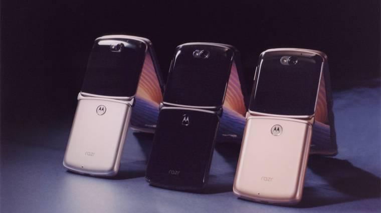 Megérkezett az összehajtható Motorola Razr 5G, és még mindig egy vagyonba kerül kép