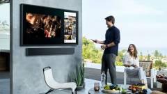 Samsung 4K QLED televízió kerti használatra kép