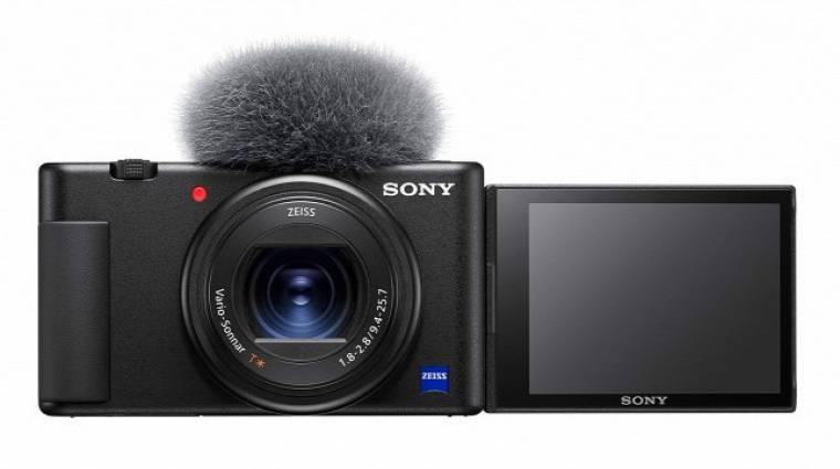 A Sony új kamerája a vloggerekre céloz kép