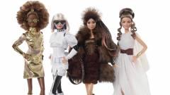 Star Wars tematikájú Barbie figurák érkeznek kép