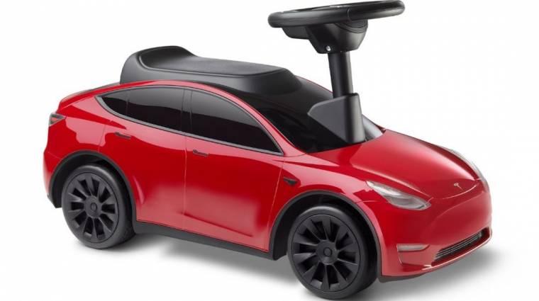 Itt a kisgyerekeknek szánt Tesla modell kép